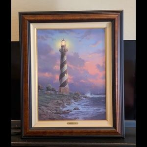 "Thomas Kinkade ""Cape Hatteras Lighthouse"""